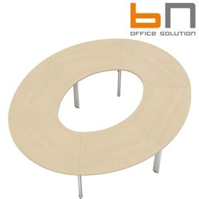 BN CX 3200 Conference Table Arrangement 9 To Seat 12 People £5069 - Meeting Room Furniture