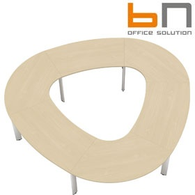BN CX 3200 Conference Table Arrangement 12 To Seat 12 People £5516 - Meeting Room Furniture