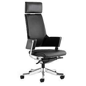 Scope High Back Black Enviro Leather Executive Chair £380 - Office Chairs