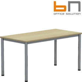 BN Easy Space Rectangular Conference Tables - Round Legs £153 - Meeting Room Furniture