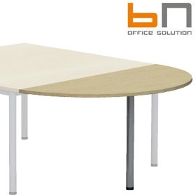 BN Easy Space Semi Circular Conference Extension - Round Leg £0 - Meeting Room Furniture