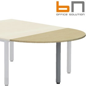 BN Easy Space Semi Circular Conference Extensions - Square Legs £0 - Meeting Room Furniture