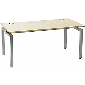 Linear Single Starter Compact Rectangular Bench Desk £238 - Office Desks