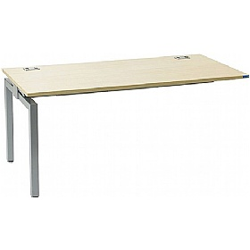 Linear Single Rectangular Add-On Bench Desk £180 - Office Desks