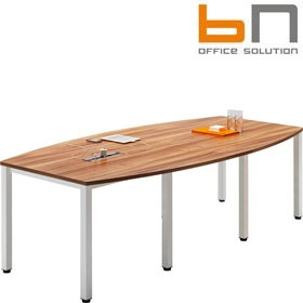 BN Easy Space Barrel Boardroom Tables - Square Legs £363 - Meeting Room Furniture