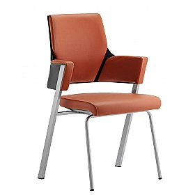 Scope Tan Enviro Leather Visitor Chair £291 - Office Chairs