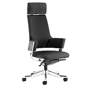 Scope High Back Black Fabric Executive Chair £380 - Office Chairs