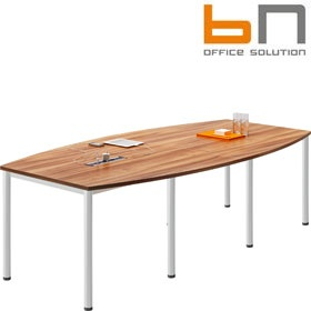 BN Easy Space Barrel Boardroom Tables - Round Legs £345 - Meeting Room Furniture