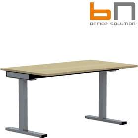 BN SQart Workstation C Leg Rectangular Desks £345 - Office Desks