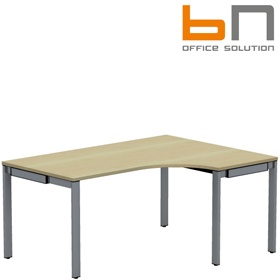 BN SQart Workstation 5 Leg Ergonomic Desks £472 - Office Desks