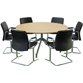 Sven Ambus Circular V-Base Meeting Tables £487 -