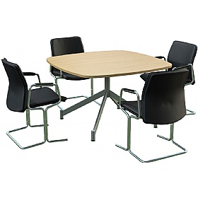 Sven Ambus Cushion V-Base Meeting Tables £446 - Meeting Room Furniture