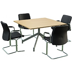 Sven Ambus Square V-Base Meeting Tables £446 - Meeting Room Furniture