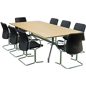 Sven Ambus Rectangular V-Base Conference Tables £584 - Meeting Room Furniture