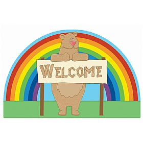 Bear Welcome Sign £0 - Education Furniture