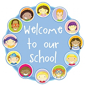 Faces Circular Welcome Sign £20 - Education Furniture