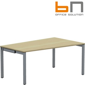 BN SQart Workstation 4 Leg Sloped Edge Desks £305 - Office Desks