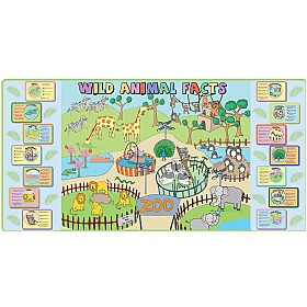 Zoo Mural With Animal Facts £0 - Education Furniture
