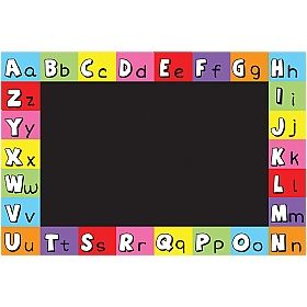 Alphabet Chalkboard £36 - Education Furniture