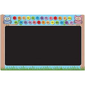 Alphabet Owl Chalkboard £0 - Education Furniture