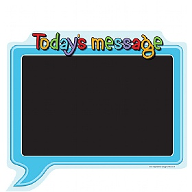 Today's Message Chalkboard £0 - Education Furniture