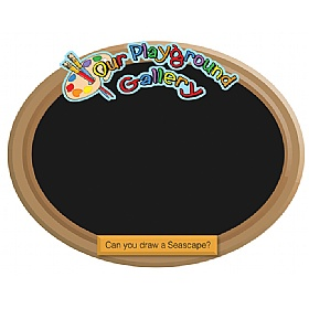 Our Gallery Seascape Chalkboard £0 - Education Furniture