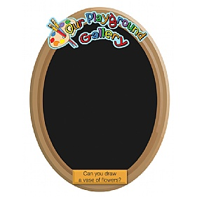 Our Gallery Vase Chalkboard £0 - Education Furniture