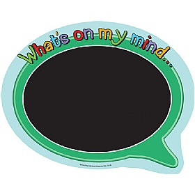 What's On My Mind Chalkboard £0 - Education Furniture