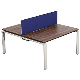 NEXT DAY Velocity Bench System Double Desk Unit £409 - Next Day Office Furniture