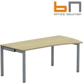 BN SQart Workstation 4 Leg Wing Desks £306 - Office Desks