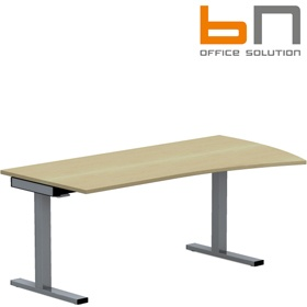 BN SQart Workstation C Leg Wing Desks £394 - Office Desks
