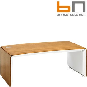 BN eRange Curved Managerial Desks £4234 - Office Desks