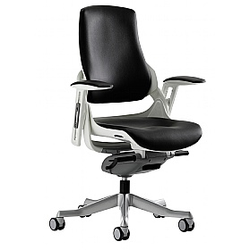 Jett Enviro Leather Task Chair £345 - Office Chairs