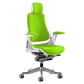 Jett Colours Task Chair With Headrest £411 - Office Chairs