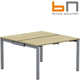 BN SQart Workstation 4 Leg Modular Bench Desks £411 - Office Desks