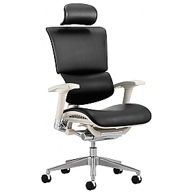 Debut 24Hr Enviro Leather Office Chair With Headrest £406 - Office Chairs