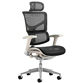 Debut 24Hr Mesh Office Chair With Headrest £376 - Office Chairs