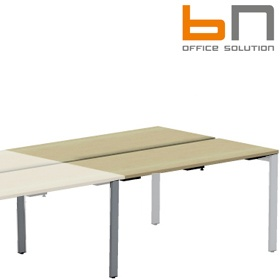 BN SQart Workstation 4 Leg Modular Add On Bench Desks £406 - Office Desks