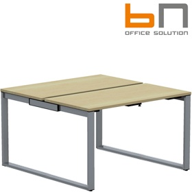 BN SQart Workstation O Leg Modular Bench Desks £472 - Office Desks