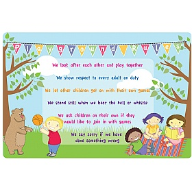 Garden Picnic Playground Rules School Sign £0 - Education Furniture
