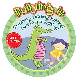 Anti Bullying Pushing And Fighting School Sign £20 - Education Furniture