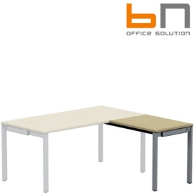 BN SQart Workstation Rectangular Desk Extension £170 - Office Desks
