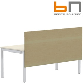 BN SQart Workstation One Piece Wooden Screen And Modesty Panel £80 - Office Desks