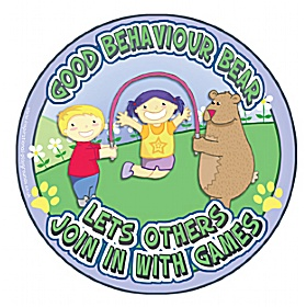 Good Behaviour Bear Let's Others Join In School Sign £20 - Education Furniture