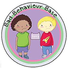 Bad Behaviour Playground Base Sign £0 - Education Furniture