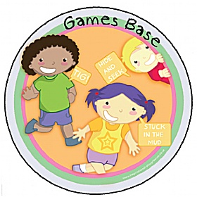 Games Playground Base Sign £20 - Education Furniture