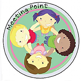 Meeting Point Playground Base Sign £0 - Education Furniture