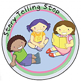 Storytelling Stop Playground Base Sign £0 - Education Furniture