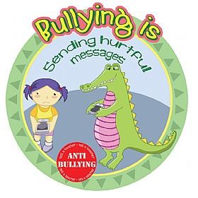 Anti Bullying Hurtful Messages School Sign £0 - Education Furniture