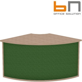 BN Velum Modular Reception - Low External Corner Unit £302 - Reception Furniture